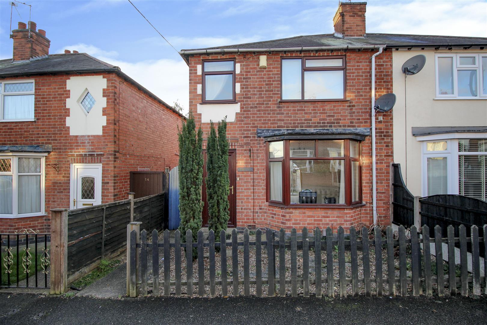 2 Bedrooms Semi Detached House for sale in Myrtle Avenue, Stapleford, Nottingham